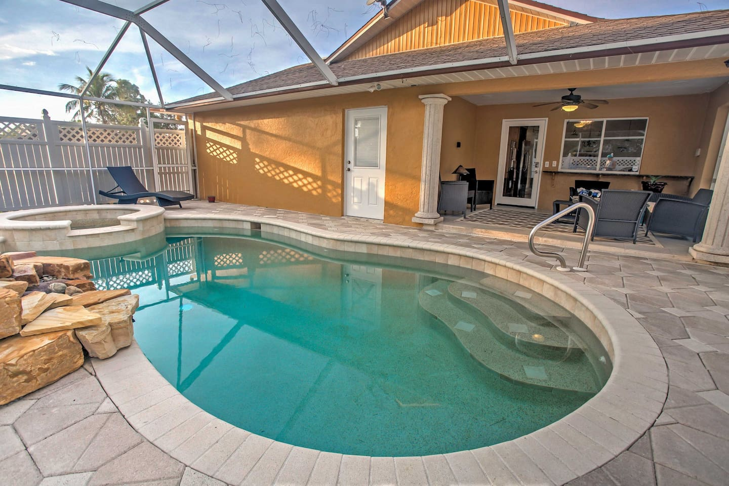 Explore the best of Naples from this fabulous vacation rental house!