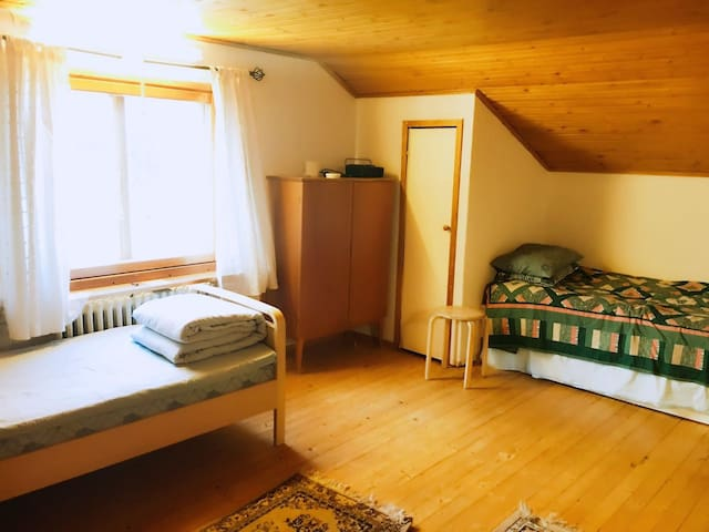Cozy Bedroom for 1-2 Persons - Helsinki - Haus