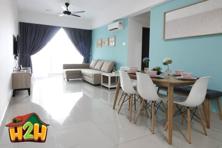 H2H - SunRise @ Majestic Ipoh (8~9 Guests)