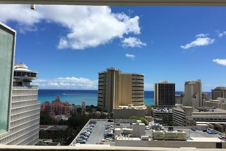 New Secured Private Studio, Great View, 2 Lanais - Honolulu