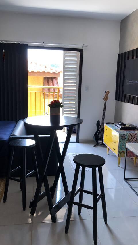Estúdio Carrão - Aconchegante e com excelente loc.