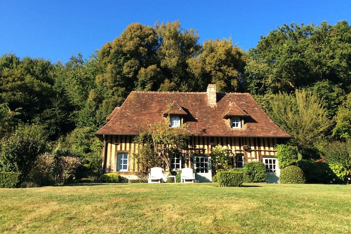 La maison Valentin - Saint-Hymer - Talo