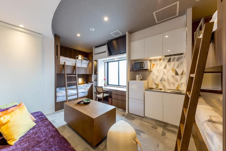 MAX5!Convenient Center of Kyoto Shijo area![FamiB]
