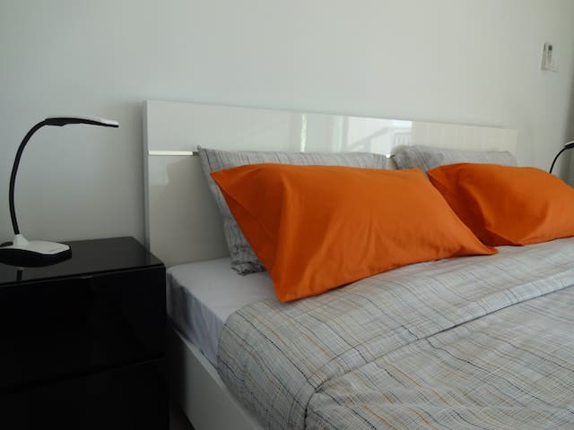 A King-Sized Bed (180 cm wide)