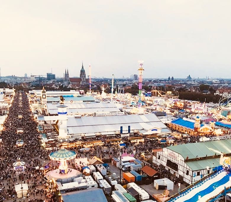 Oktoberfest--10 min from the Apartment