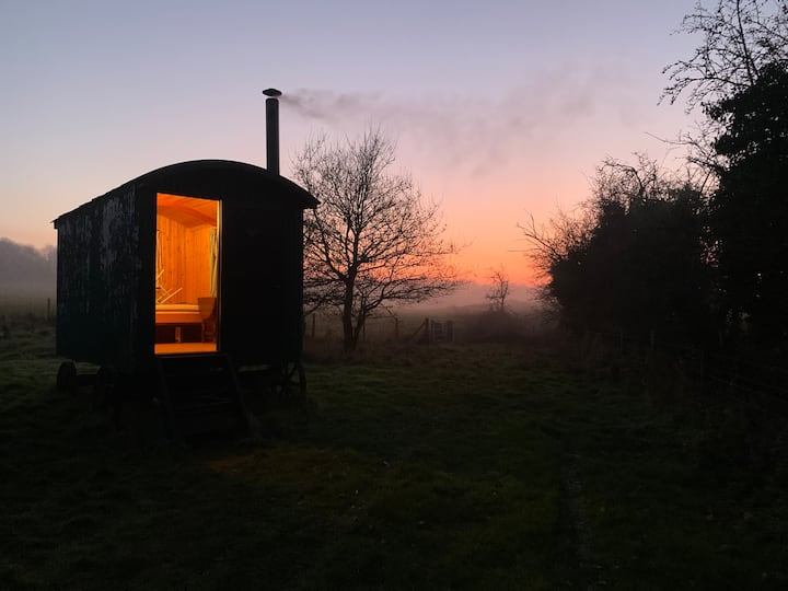 The Oak Shepherd's Hut - Blatchbridge Farm