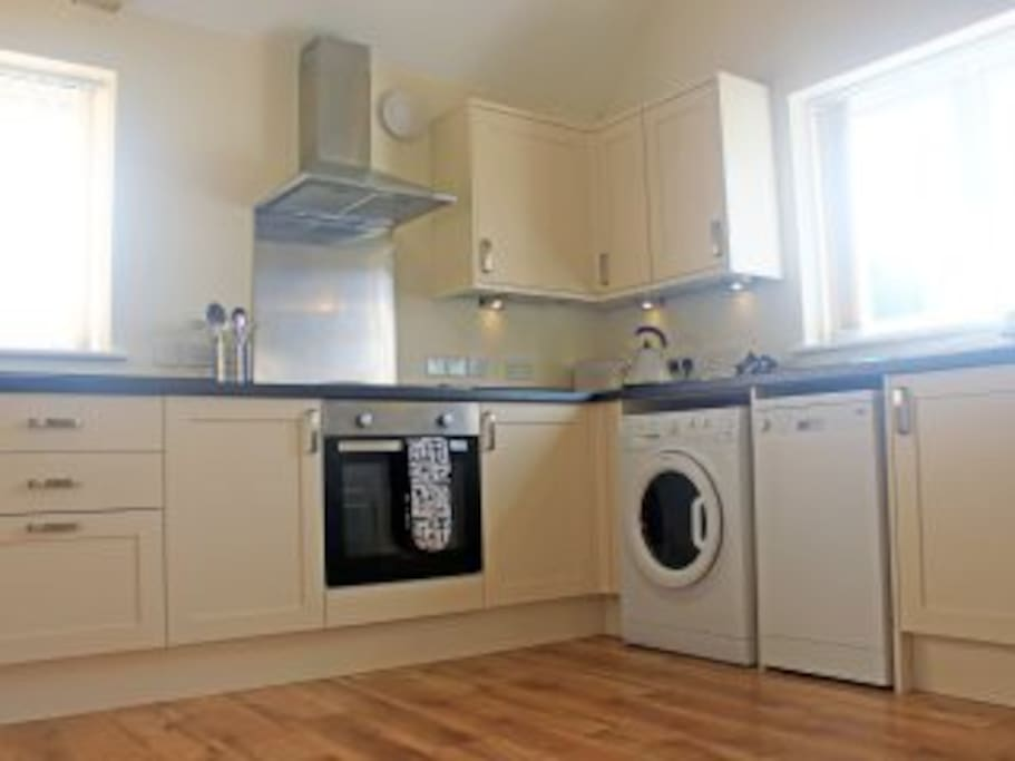 Well equipped kitchen ideal for self catering breaks