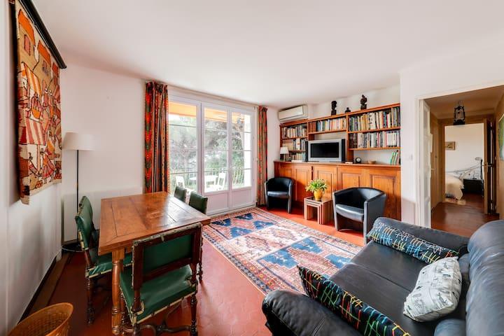 Appartement 6 pers 4 ch près plages du Mourillon
