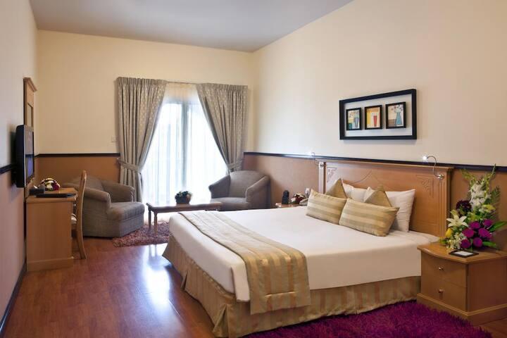 Landmark Plaza Baniyas - PVT Room - Free Breakfast
