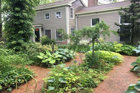 Beautiful Garden-Surrounded Colonial