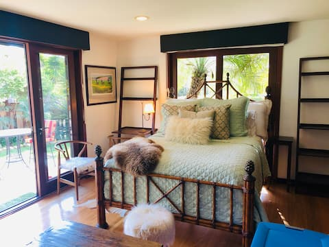 Tranquil Montecito Studio at Butterfly Beach