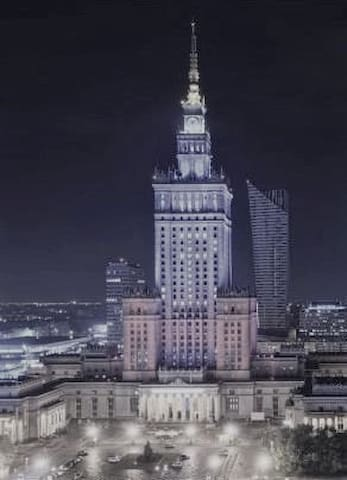 9th Floor Palace View Centre - Warszawa - Appartamento