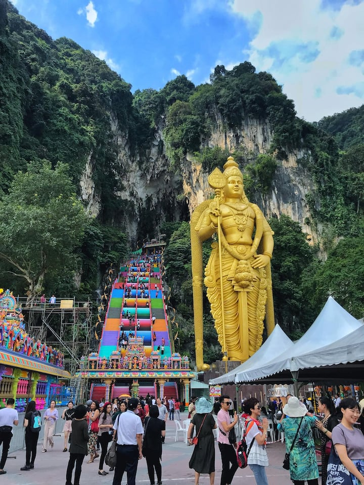 Batu Caves drop off