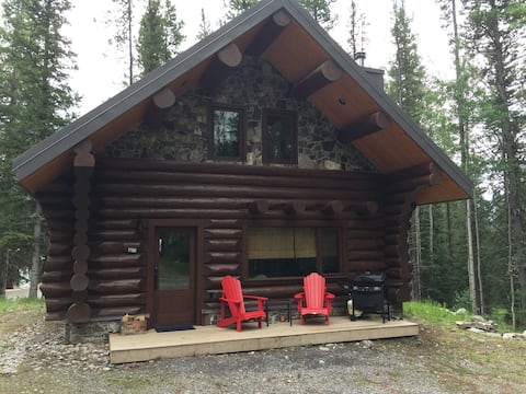 Cabin1-Log Cabin in the Rocky Mountains-Nordegg AB