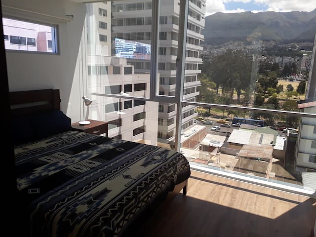 Modern apartment/fantastic neighborhood..