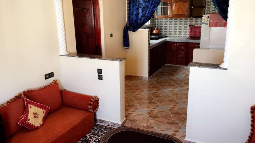Traditional apartment in the city center of AGADIR