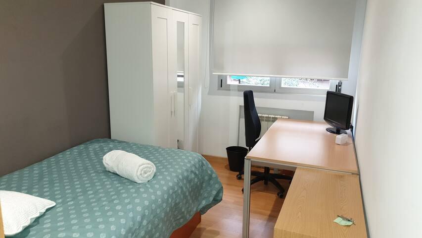 Habitación Individual en  Granada-Centro + Wifi