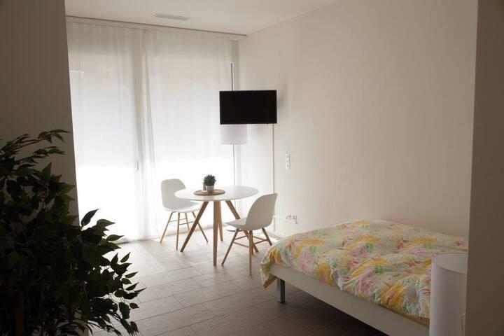 Studio mit Küche und Dusche #2