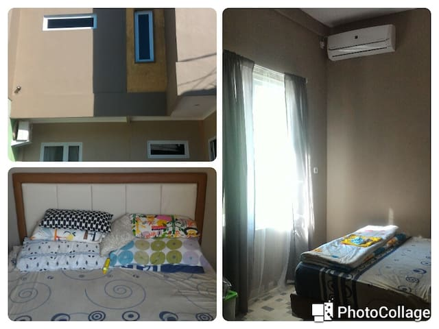 Private Room with A.C. near TMII - Makasar - Ev