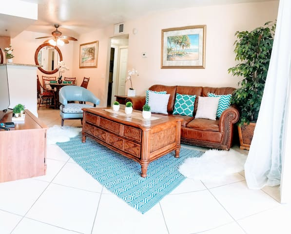 ⚕✔SANITIZED Luxury Resort 2BD/2BA -NO RESORT FEES!