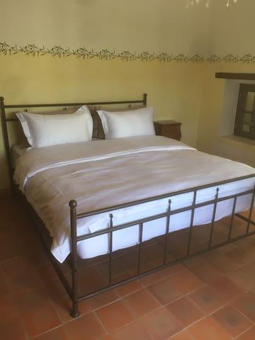 Upstairs bedroom Super King bed