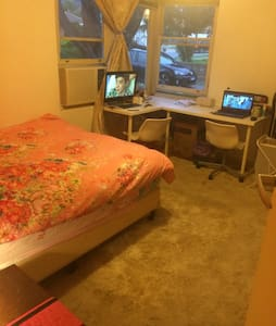 comfy big bedroom for rent - Newton