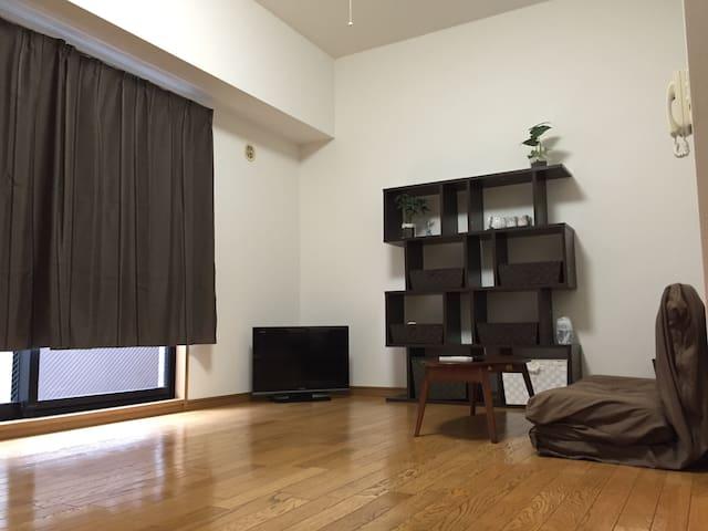 ★AKIHABARA 10mins walk PRIVATE W/WIFI★ - Chiyoda-ku - Lägenhet