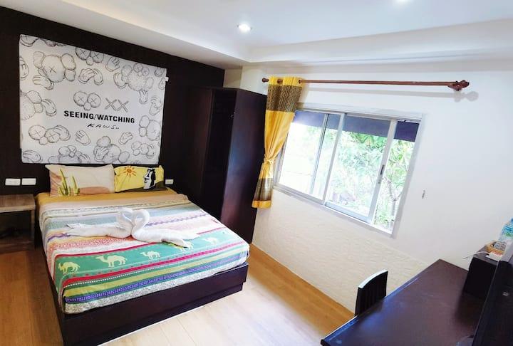 Long-Term/Patong CheapRoom/Kicten&Washing/Bangla
