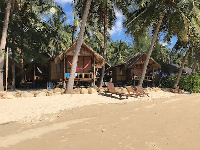 Castaway Beach Bungalows 4 - Your Hammock Awaits..