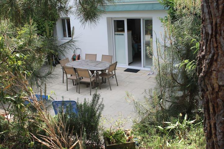 Cap Ferret Appartement avec  jardin proche bassin
