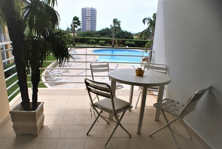 Alvor Large Swimming Pool 1BR Apt with Balcony