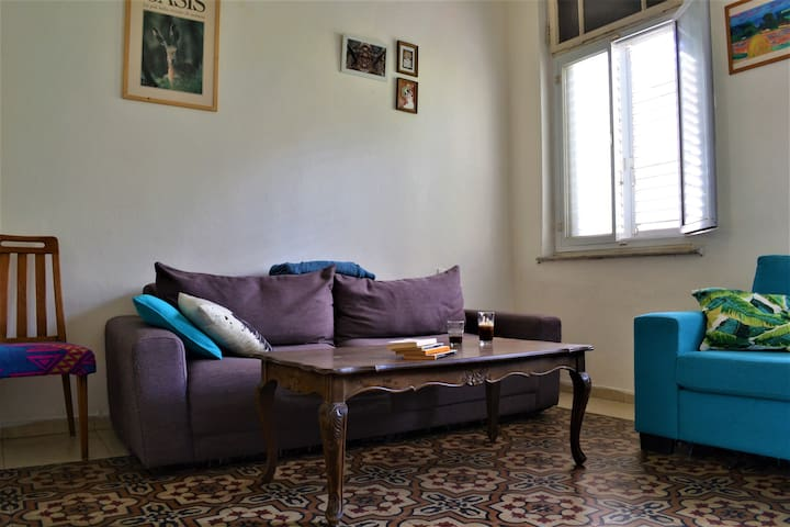 Beautiful private room in the heart of Tel Aviv