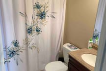 Small full bathroom downstairs