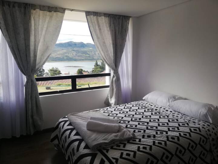habitación privada en hospedaje Guatavista