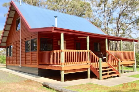 Tranquil, Bushland hideaway next to Rocklands Res