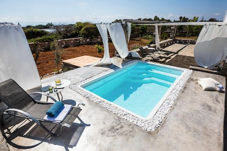 Villa Fuster Luxury Villa in Paros - サンタマリア