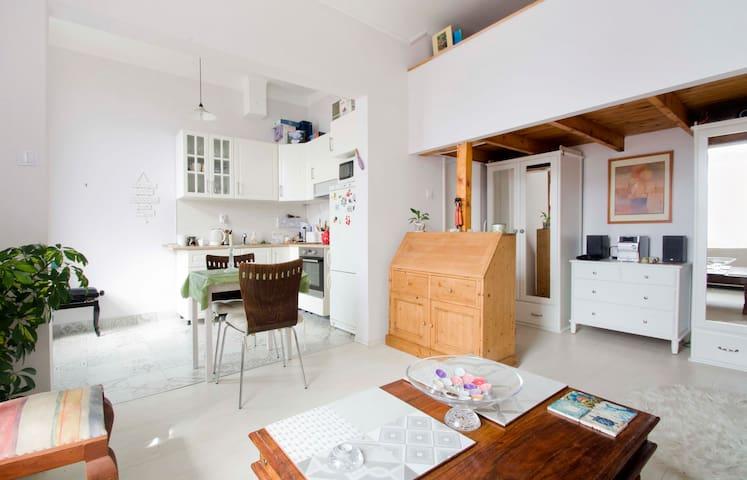 Cozy Apartment - stylish, split-level apartment.