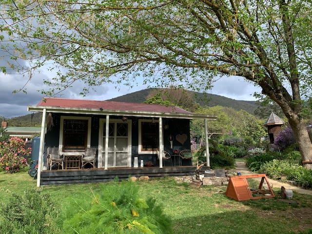 The Blue Cottage on Clarke