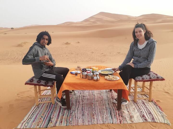Overnight Camel Trek ⛺