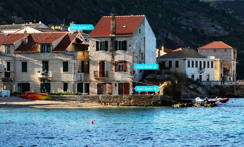 """Apartment kod Senke """"B"""" Komiža,island Vis,Croatia."""