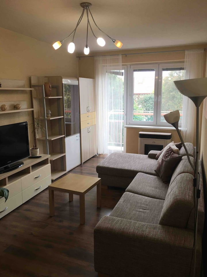 Fully furnished 2-bedroom apartment