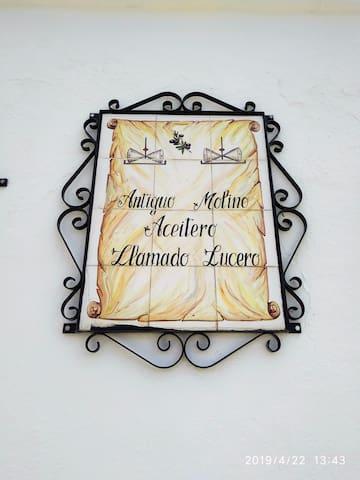 Alojamiento Rural Molino Lucero para 30 personas