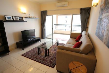 温馨舒适❤双人房❤距离吉隆坡双峰塔仅5站 - Kuala Lumpur - Huoneisto