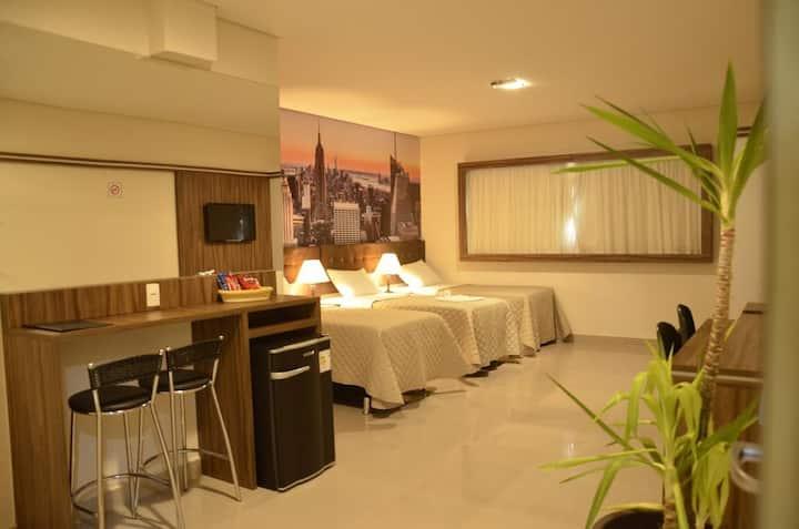 Hotel Horto Plaza -  Quarto Triplo