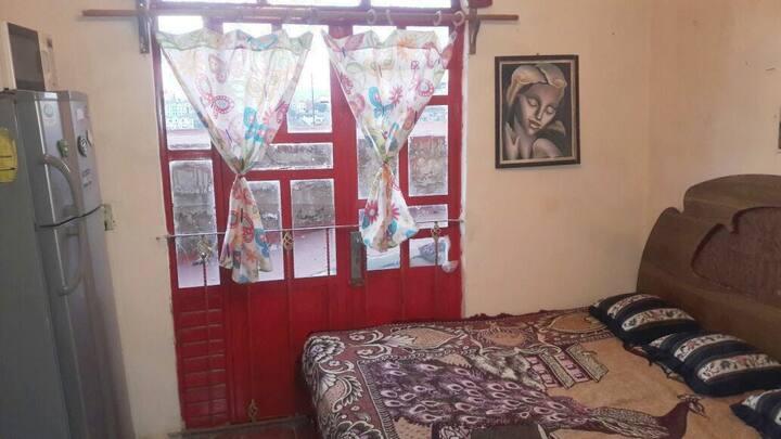habitación amueblada para 1 o 2 personas