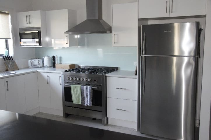 Kitchen with all you need for catering and entertaining 8 guests