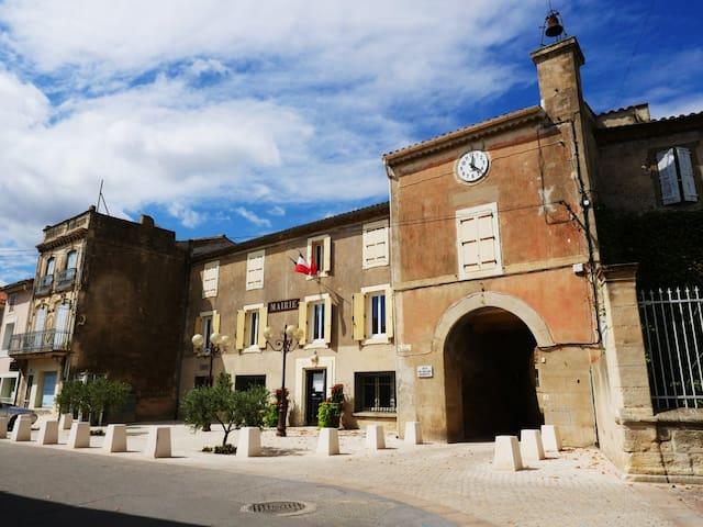 Mairie de Mirepeisset.