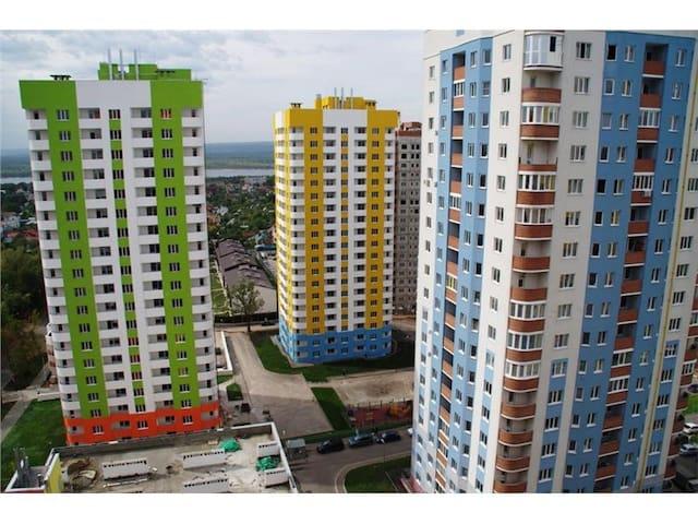 Просторная квартира у реки Волга