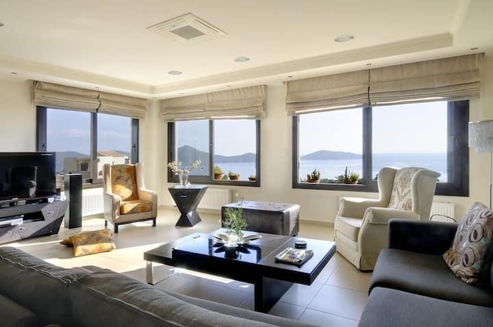 Luxury villa Elounda