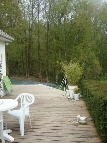 Grande maison au calme pour famille proche Rouen - Roncherolles-sur-le-Vivier - Talo